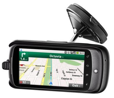 Google Nexus One car dock