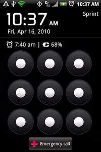 Android 2.1 on HTC Hero