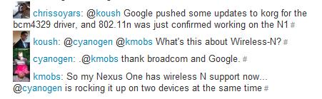802.11N Nexus One