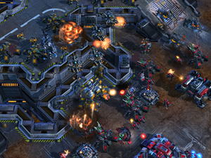 Android Starcraft 2 contest