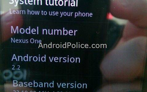 EXCLUSIVE: AndroidPolice.com's Nexus One Is Running Android 2.2 Froyo. How Fast Is It Compared To 2.1? Oh, Only About 450% Faster