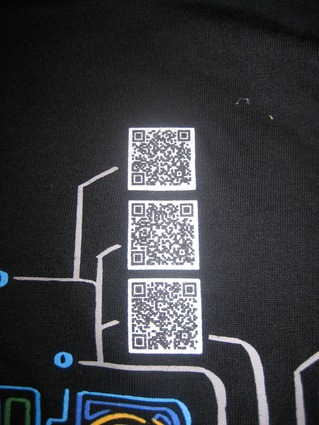 Google Shwag And Secret Messages Encoded On The Google I/O T-Shirts