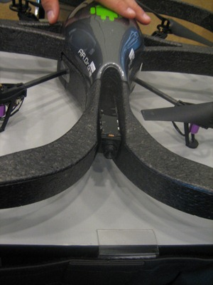 And The Coolest Gadget Of Google I/O Award Goes To… AR Drone. [Video + Pics, Google I/O Blitz Coverage, Day 1]