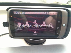 Android 2.1 car dock