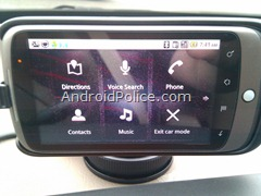 android 2.2 car dock