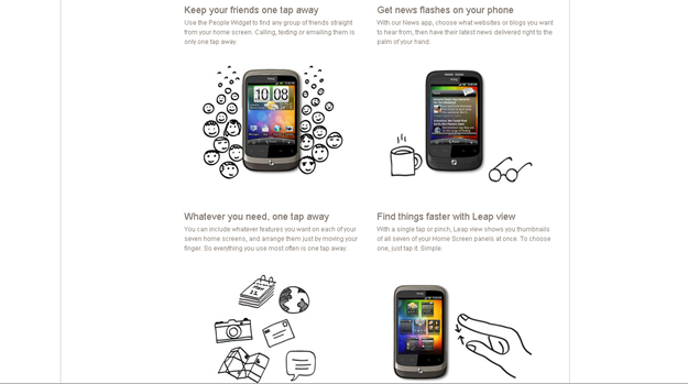 HTC Wildfire Official Site Is Now Live