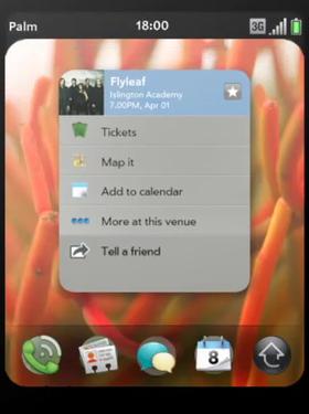 webOS multitasking