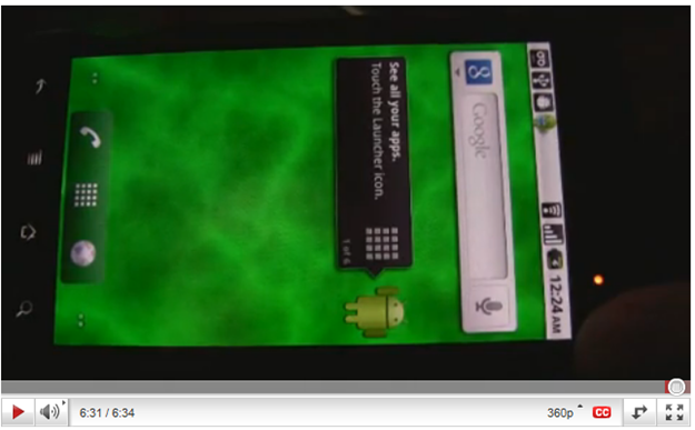 A Video Of An Adobe Evangelist Showcasing Flash 10.1 Smoothly Running On A Nexus One With Android 2.2 Froyo
