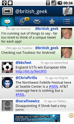 tweetcaster android timeline