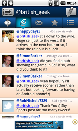 tweetcaster android mentions