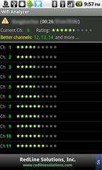 8c - Wifi Analyzer - analyzing my home wifi network