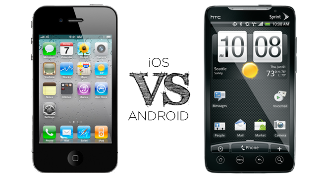 "Apple iOS 3 & 4 VS Android 2.1 ""Eclair"" & 2.2 ""Froyo"": Fight!"