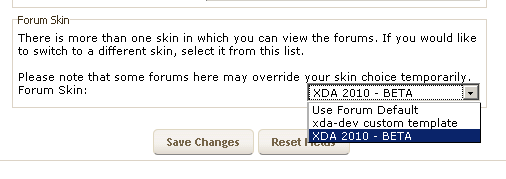 PSA: How To Enable A New Updated Look For xda-developers.com Forums