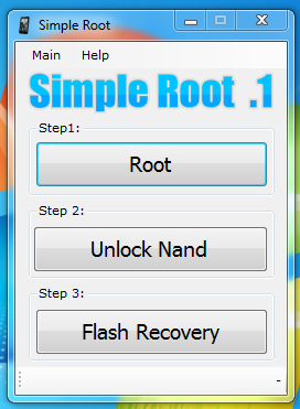 SimpleRoot - Fully Root Your HTC EVO 4G In One Click, Including Unlocking NAND And Flashing Recovery