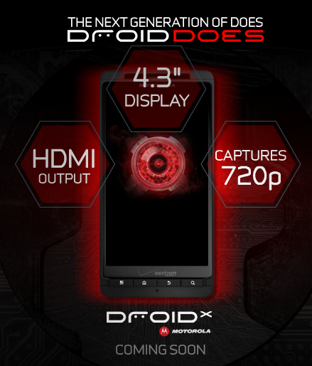 verizon droid x