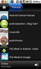 Podcast navigation