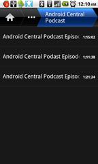 Redundant podcast list, just like the Playlist I already saw