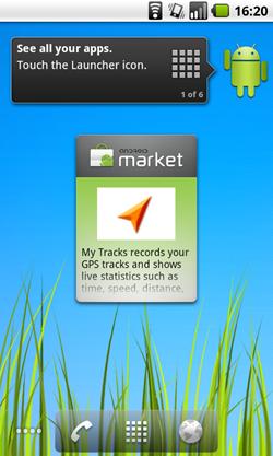 froyo new widgets