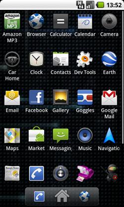 cyanogen 5.0.8 app drawer