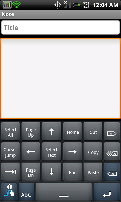 how to move cursor with keyboard