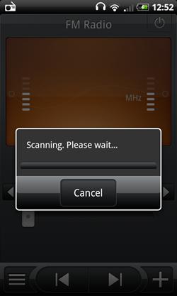 htc desire radio fm scanning