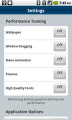 2a - settings screen 1
