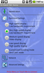 3b - setup - optimized settings
