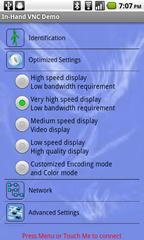 3b - setup - optimized settings