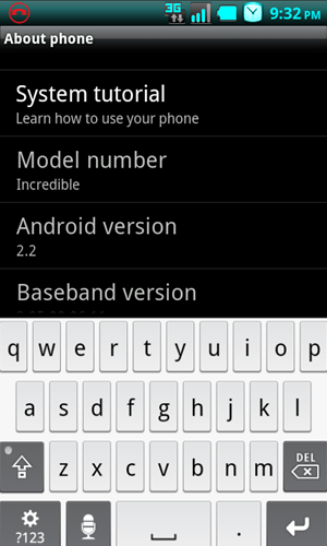 droid 2 keyboard