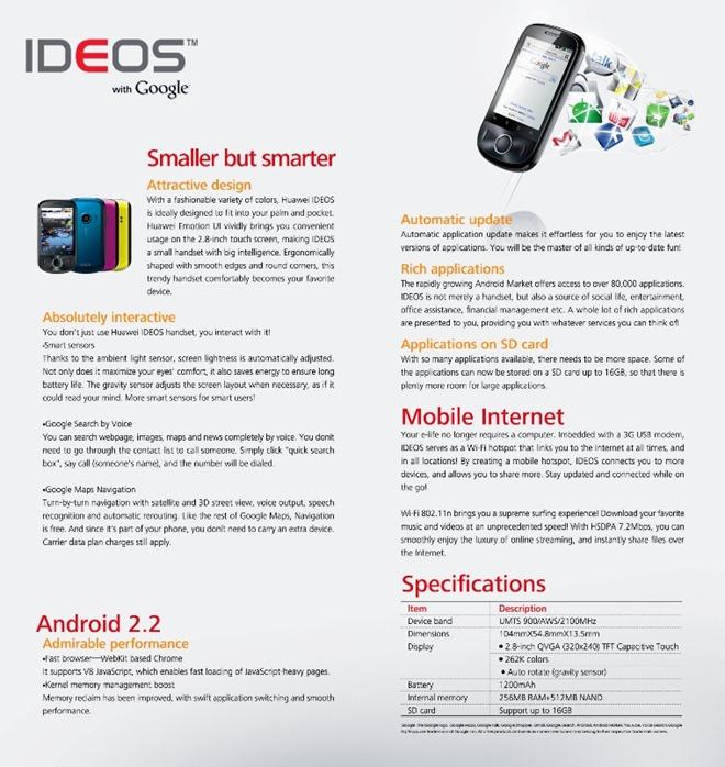 IDEOS Factsheet