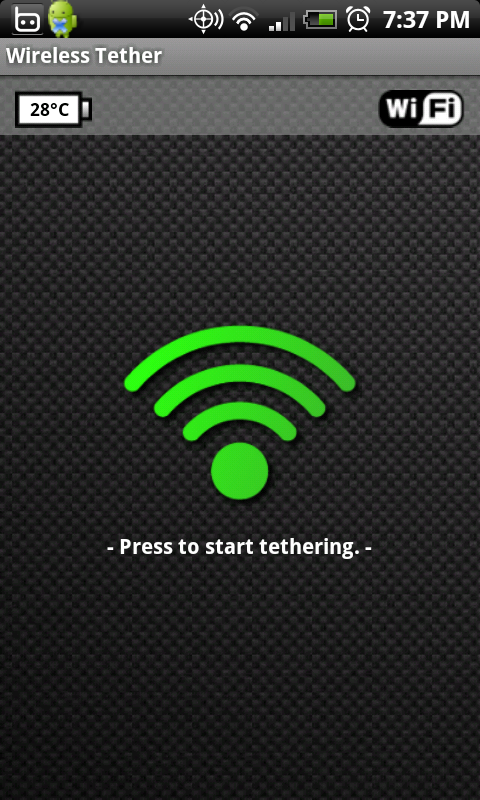 Android WiFi Tether App For Rooted Users Constantly