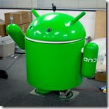 walking android
