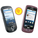 T-Mobile Comet + LG Optimus T Free