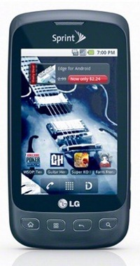 SprintLGOptimusSAndroidPhone