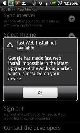 fastwebinstaller