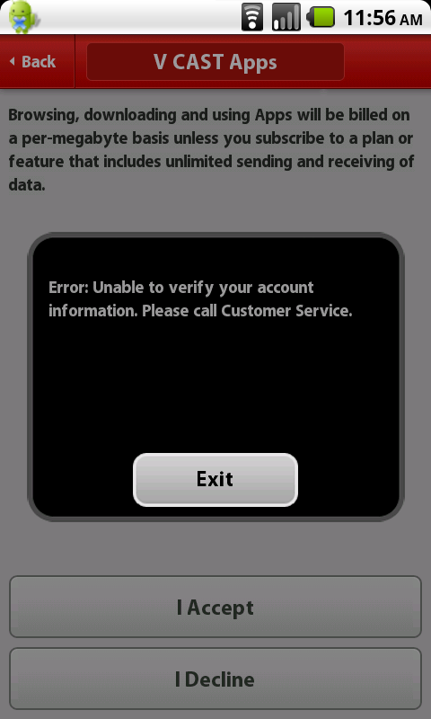 Verizon's V CAST App Store Ripped Out Of The Latest Droid Incredible