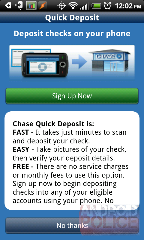 Citibank Account Online >> Official Chase Mobile Android App With Online Check Deposits Hits The Market [Hands-On]
