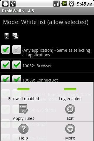 DroidWall (screen 1)