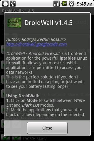 DroidWall (screen 2)