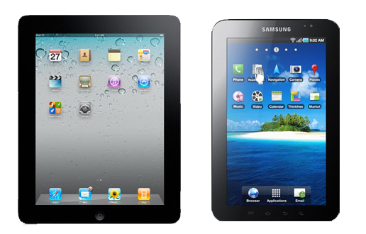 ipad and samsung
