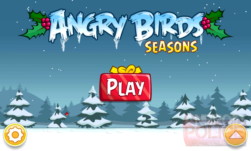 just as promised rovio the maker of the oh so popular angry birds released a separate game called angry birds seasons today which contains 45 halloween - Christmas Angry Birds