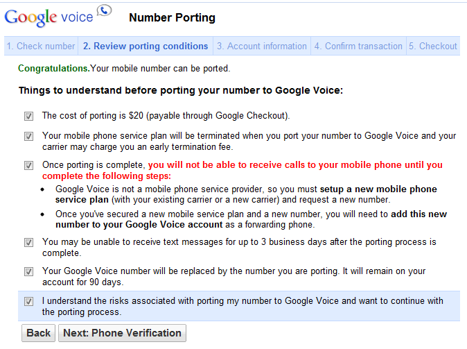 Google Voice Now Supports Mobile Number Porting