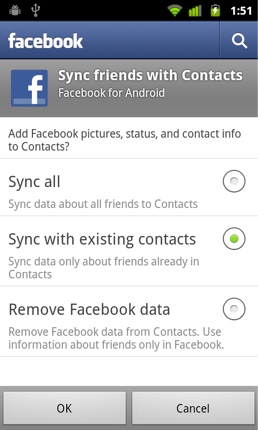 Google Takes A Swing At Facebook: Removes Contact Syncing With Nexus