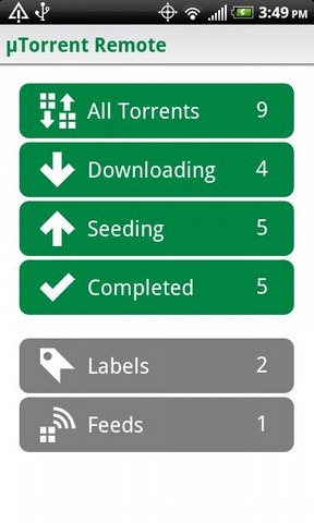 Official uTorrent Remote App Debuts - Manage All Those