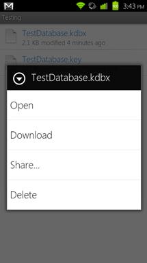 Dropbox Download