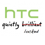 HTC quietly locked