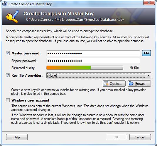 KeePass for Windows