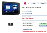 LG T-Mobile G Slate 4G Tablet at MobileCityOnline.com