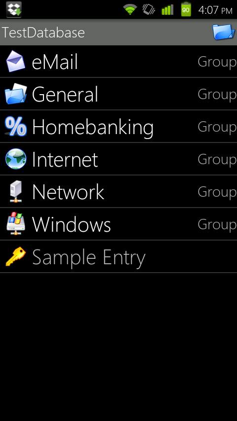 Keepass Android Sync