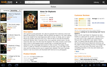 Kindle for Android - Honeycomb, Book Detail Page